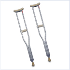Adult and Child Crutches